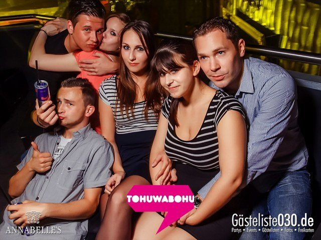 Partypics Annabelle's 14.09.2012 Tohuwabohu Grand Opening