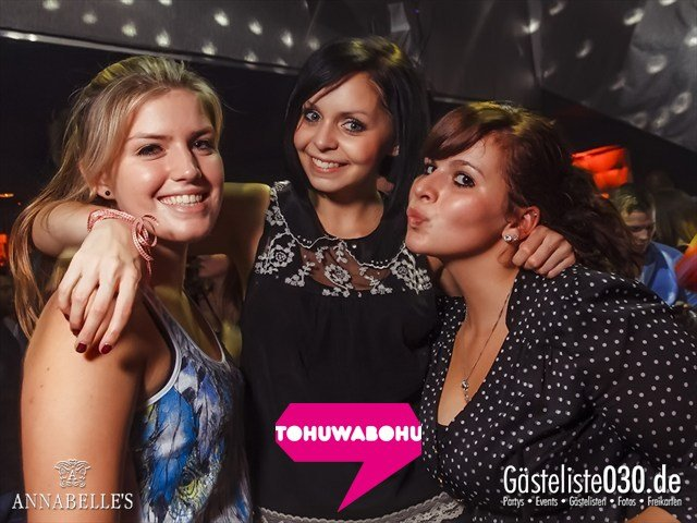 https://www.gaesteliste030.de/Partyfoto #11 Annabelle's Berlin vom 14.09.2012