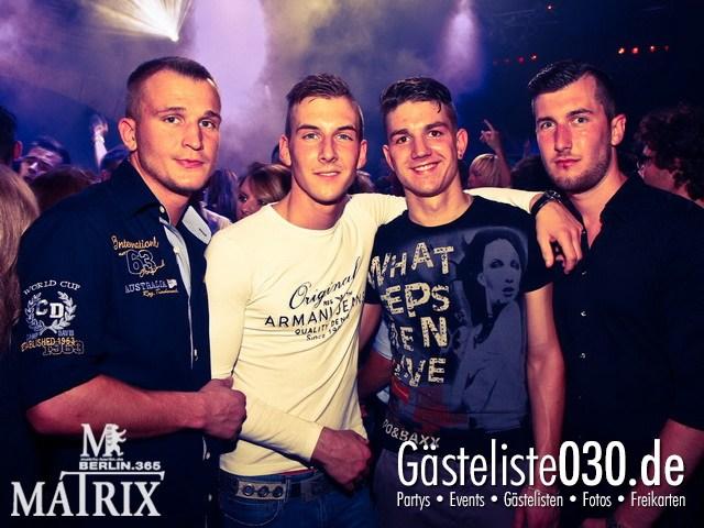 https://www.gaesteliste030.de/Partyfoto #37 Matrix Berlin vom 14.09.2012