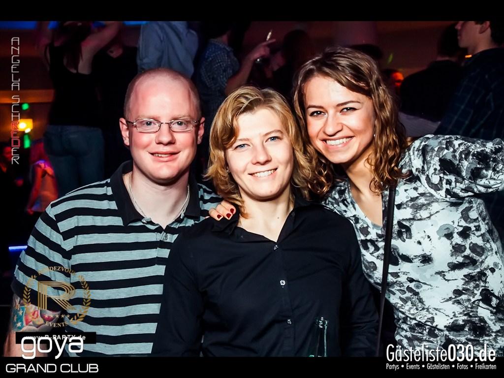 Partyfoto #50 Goya 27.10.2012 Rendezvous pres. Extravagance Party