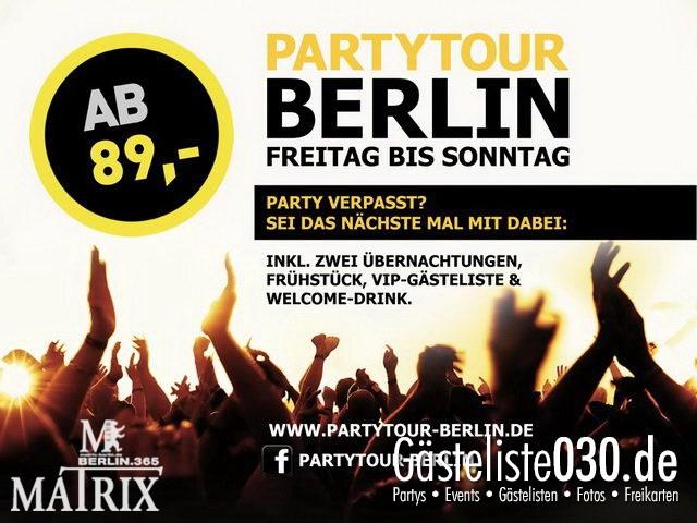 https://www.gaesteliste030.de/Partyfoto #110 Matrix Berlin vom 06.10.2012