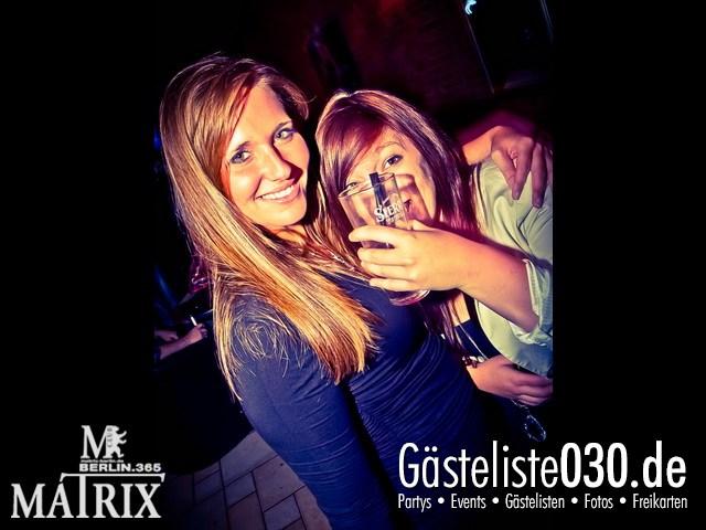 https://www.gaesteliste030.de/Partyfoto #104 Matrix Berlin vom 06.10.2012