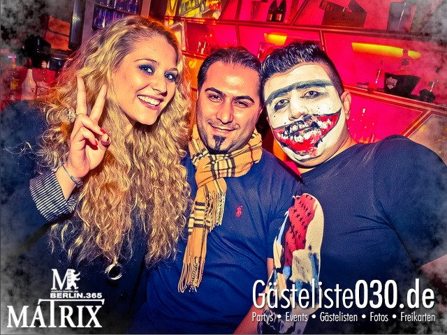 https://www.gaesteliste030.de/Partyfoto #26 Matrix Berlin vom 02.11.2012