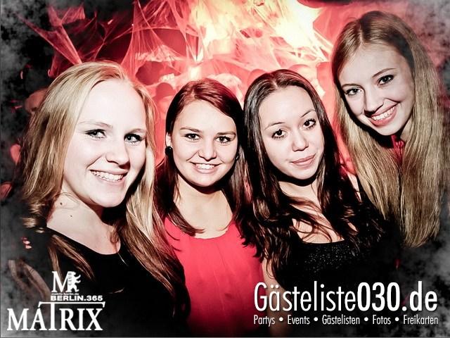 https://www.gaesteliste030.de/Partyfoto #47 Matrix Berlin vom 02.11.2012