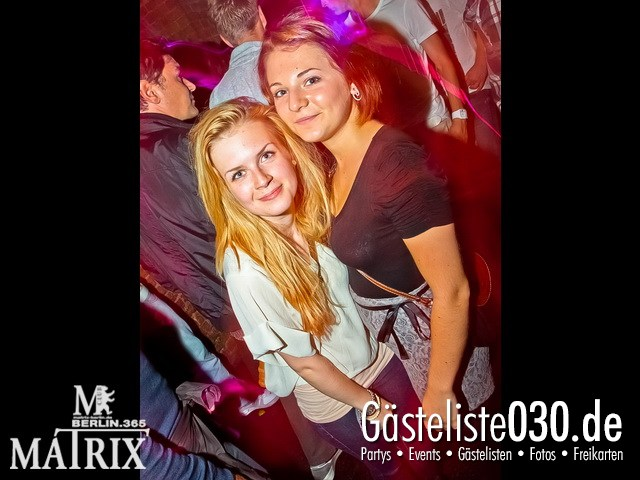 https://www.gaesteliste030.de/Partyfoto #87 Matrix Berlin vom 12.09.2012