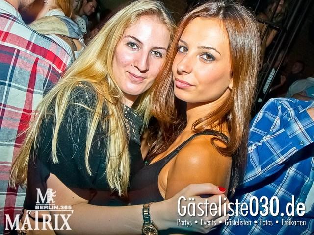 https://www.gaesteliste030.de/Partyfoto #97 Matrix Berlin vom 12.09.2012