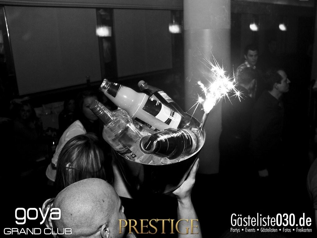 Partyfoto #49 Goya 02.11.2012 Prestige - Premium Clubbing