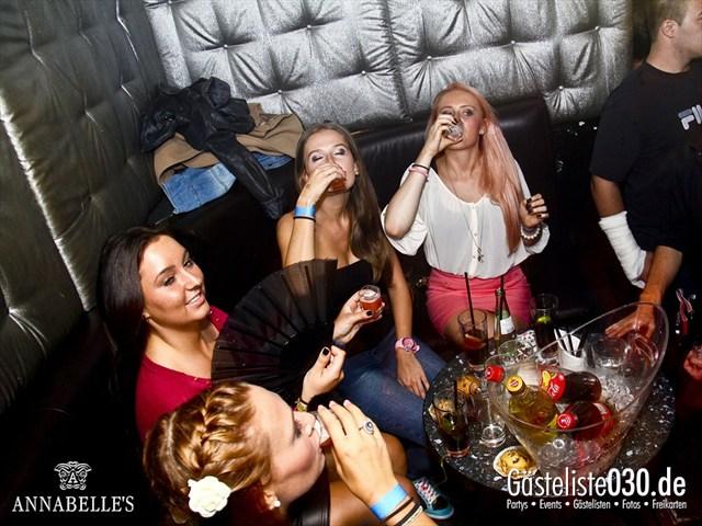https://www.gaesteliste030.de/Partyfoto #60 Annabelle's Berlin vom 10.08.2012