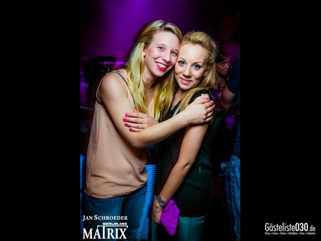 https://www.gaesteliste030.de/Partyfoto #100 Matrix Berlin vom 30.08.2013