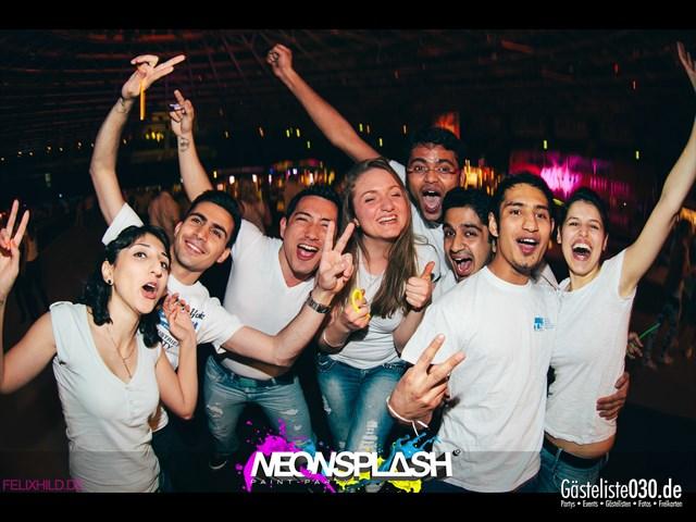Partypics Velodrom 20.04.2013 Neonsplash - Paint-Party® Color is Creation Tourstop Berlin!