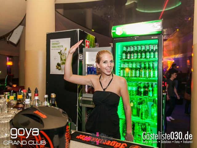 """Partypics Goya 21.12.2012 Housexy Is Electro """"Till The World Ends"""""""