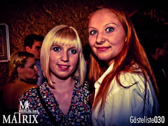 https://www.gaesteliste030.de/Partyfoto #84 Matrix Berlin vom 02.10.2012