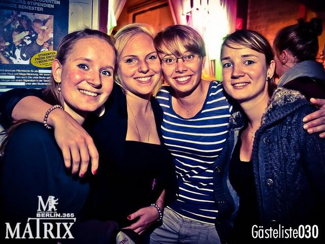 https://www.gaesteliste030.de/Partyfoto #87 Matrix Berlin vom 02.10.2012