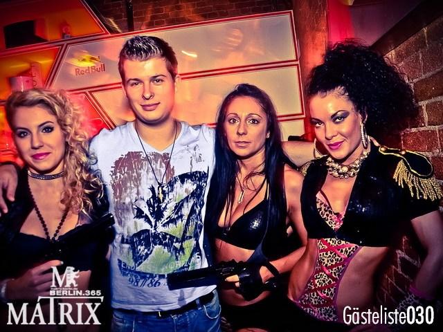 https://www.gaesteliste030.de/Partyfoto #100 Matrix Berlin vom 02.10.2012