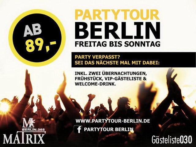 https://www.gaesteliste030.de/Partyfoto #118 Matrix Berlin vom 02.10.2012