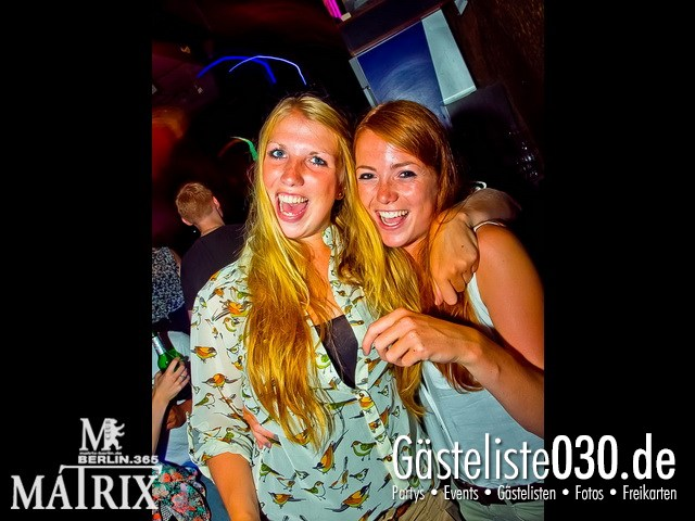 https://www.gaesteliste030.de/Partyfoto #70 Matrix Berlin vom 02.08.2012