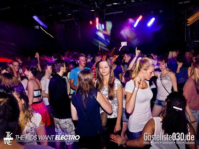 Partypics Fritzclub 18.06.2013 The Kids Want Electro  ✖ Zeugnisrave