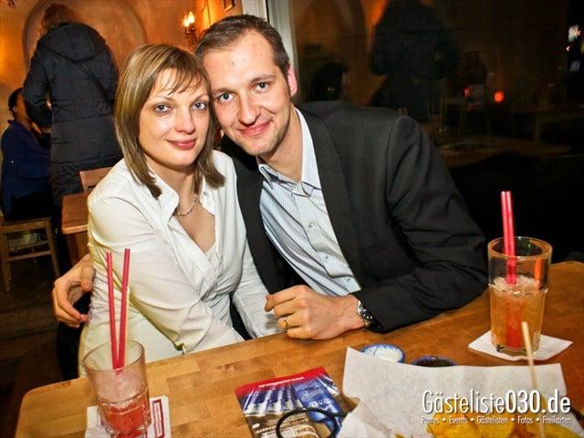 https://www.gaesteliste030.de/Partyfoto #3 Sausalitos Berlin vom 06.12.2012