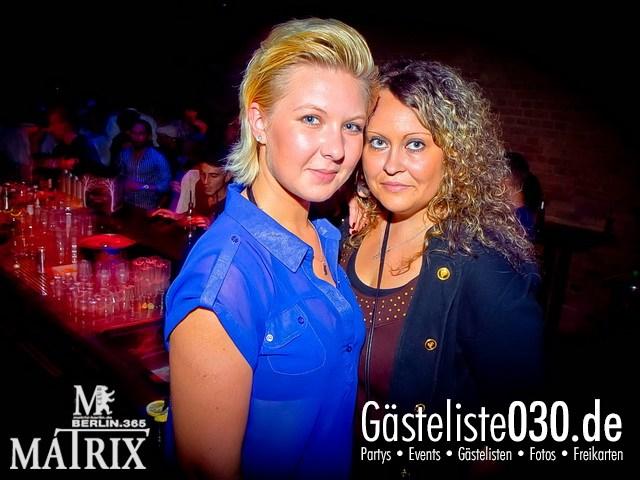 https://www.gaesteliste030.de/Partyfoto #62 Matrix Berlin vom 23.08.2012