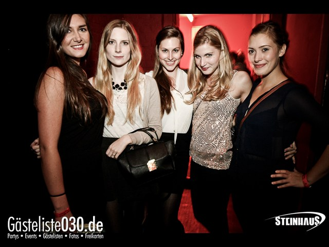 https://www.gaesteliste030.de/Partyfoto #6 Steinhaus Berlin vom 26.10.2012