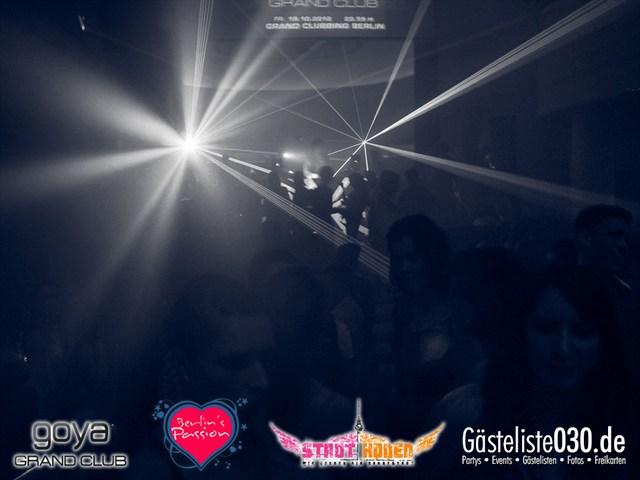https://www.gaesteliste030.de/Partyfoto #62 Goya Berlin vom 12.10.2012