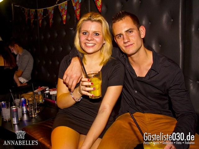 https://www.gaesteliste030.de/Partyfoto #37 Annabelle's Berlin vom 01.12.2012