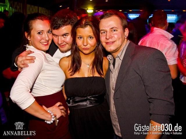 https://www.gaesteliste030.de/Partyfoto #12 Annabelle's Berlin vom 01.12.2012
