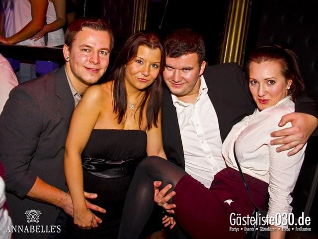 https://www.gaesteliste030.de/Partyfoto #11 Annabelle's Berlin vom 01.12.2012