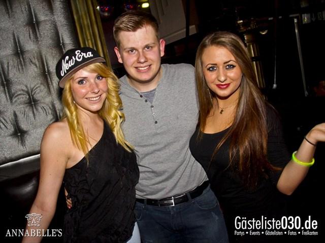https://www.gaesteliste030.de/Partyfoto #65 Annabelle's Berlin vom 01.12.2012