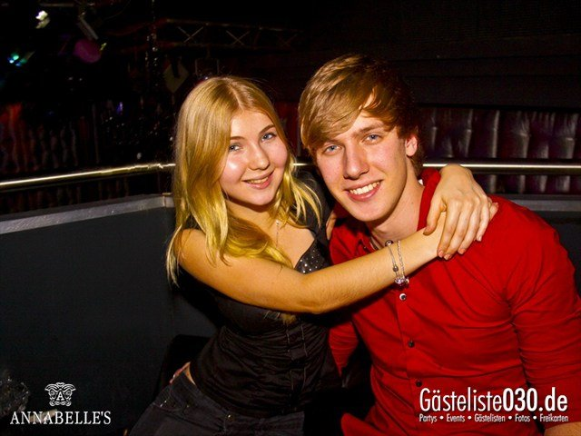 https://www.gaesteliste030.de/Partyfoto #39 Annabelle's Berlin vom 01.12.2012