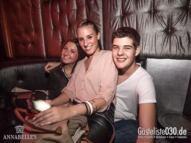 https://www.gaesteliste030.de/Partyfoto #41 Annabelle's Berlin vom 13.10.2012