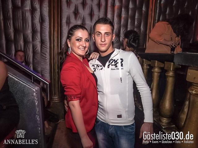 https://www.gaesteliste030.de/Partyfoto #59 Annabelle's Berlin vom 13.10.2012
