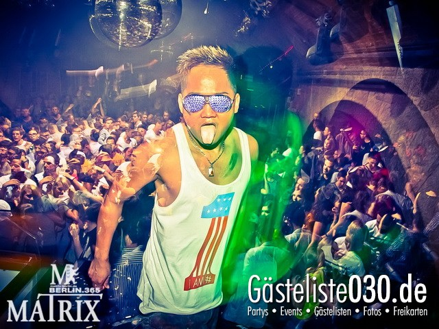 https://www.gaesteliste030.de/Partyfoto #87 Matrix Berlin vom 10.10.2012