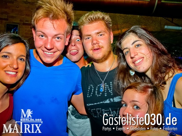https://www.gaesteliste030.de/Partyfoto #76 Matrix Berlin vom 09.08.2012