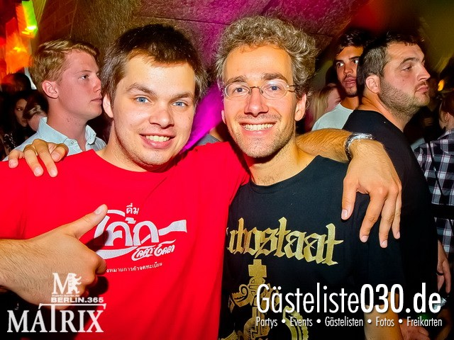 https://www.gaesteliste030.de/Partyfoto #67 Matrix Berlin vom 09.08.2012