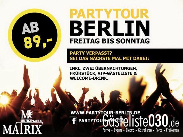 https://www.gaesteliste030.de/Partyfoto #12 Matrix Berlin vom 31.07.2013