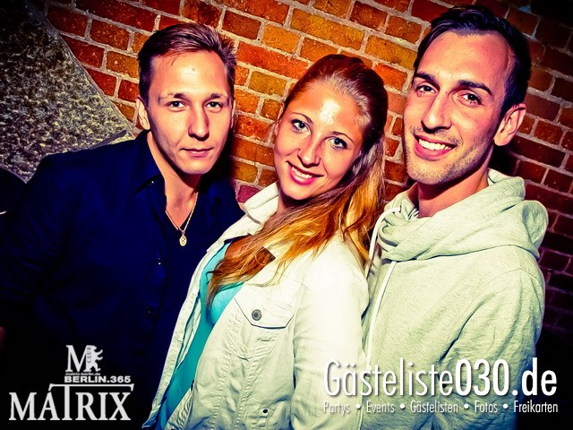 https://www.gaesteliste030.de/Partyfoto #92 Matrix Berlin vom 28.09.2012