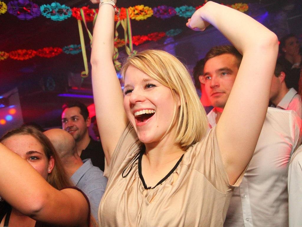 Partyfoto #75 Q-Dorf 18.02.2012 Galaktika