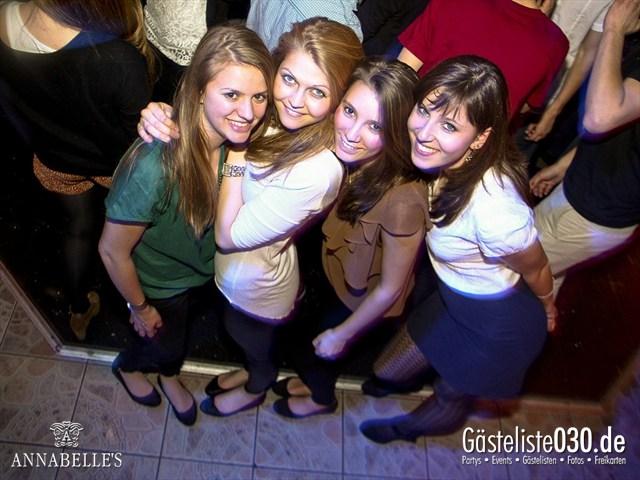 https://www.gaesteliste030.de/Partyfoto #46 Annabelle's Berlin vom 09.04.2012