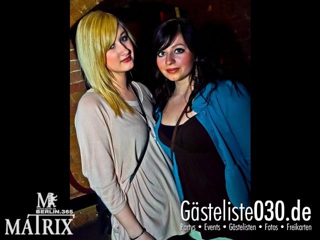 https://www.gaesteliste030.de/Partyfoto #125 Matrix Berlin vom 06.04.2012