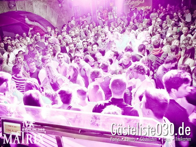 https://www.gaesteliste030.de/Partyfoto #121 Matrix Berlin vom 12.05.2012