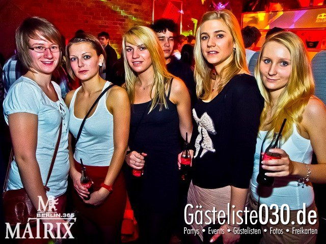 https://www.gaesteliste030.de/Partyfoto #79 Matrix Berlin vom 10.10.2011