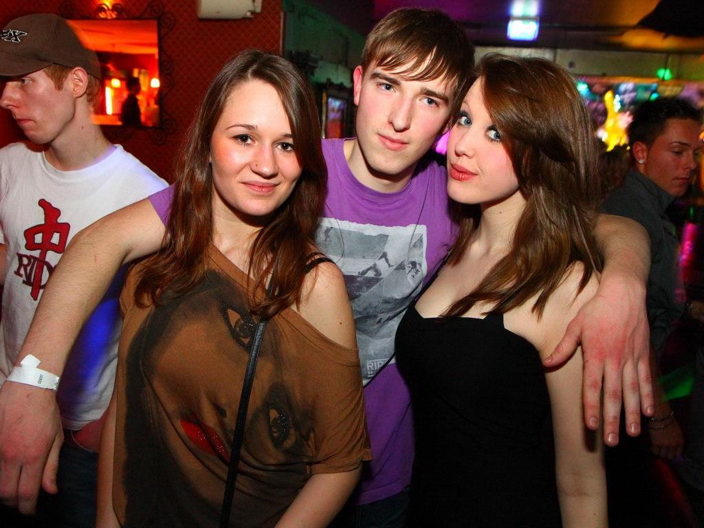 Partyfoto #48 Q-Dorf 25.02.2012 Galaktika