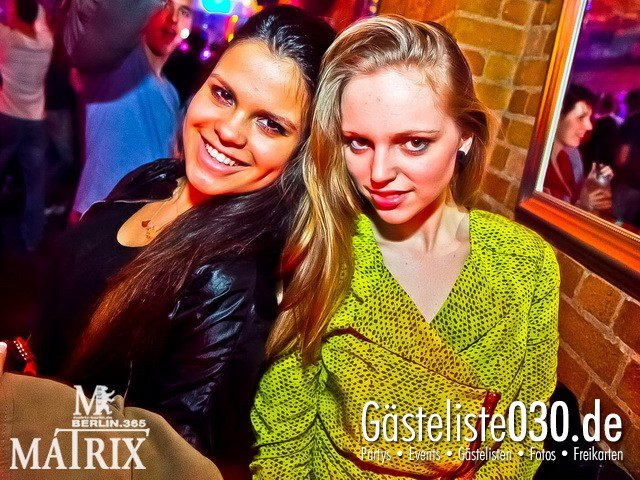 https://www.gaesteliste030.de/Partyfoto #62 Matrix Berlin vom 10.03.2012