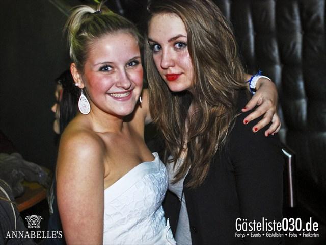 https://www.gaesteliste030.de/Partyfoto #63 Annabelle's Berlin vom 13.04.2012