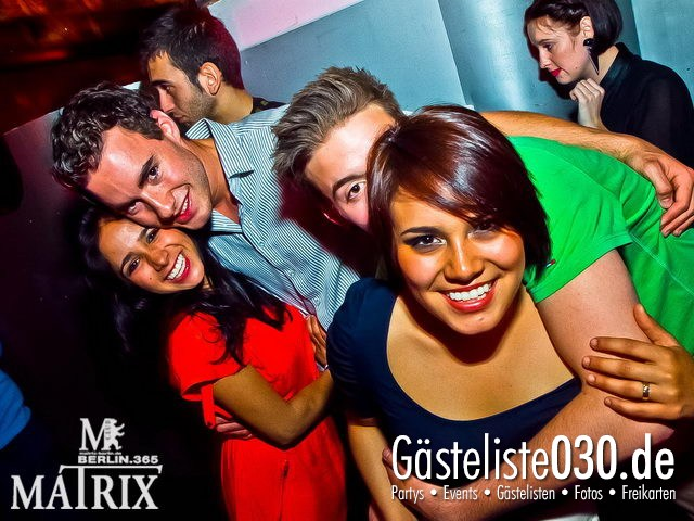 https://www.gaesteliste030.de/Partyfoto #86 Matrix Berlin vom 18.04.2012