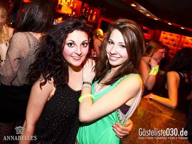 https://www.gaesteliste030.de/Partyfoto #83 Annabelle's Berlin vom 10.04.2012