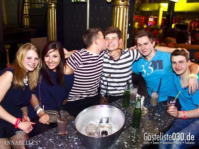 https://www.gaesteliste030.de/Partyfoto #30 Annabelle's Berlin vom 10.04.2012