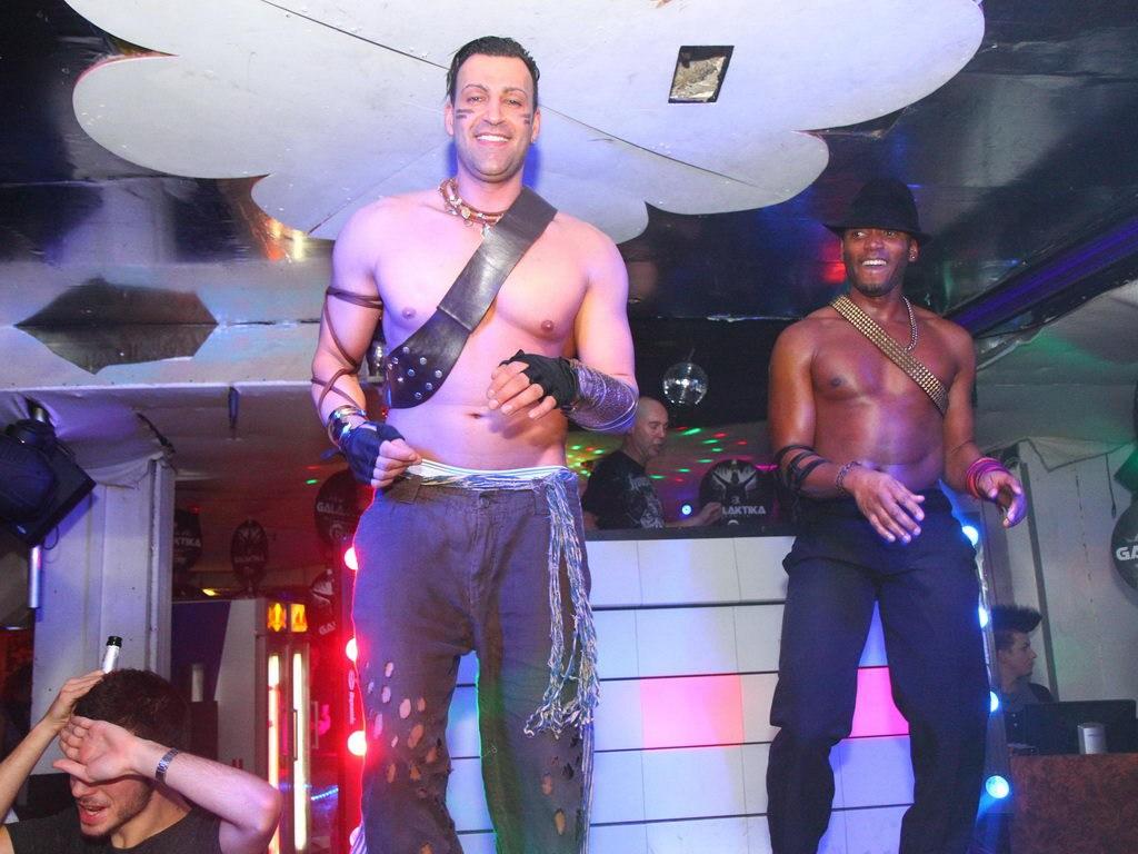 Partyfoto #49 Q-Dorf 25.02.2012 Galaktika