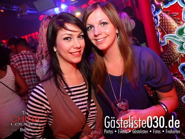 https://www.gaesteliste030.de/Partyfoto #45 China Lounge Berlin vom 09.12.2011